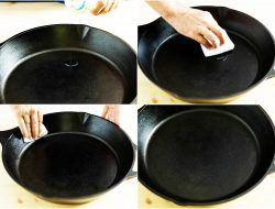 jak prawidłowo przygotować patelnie żeliwną do użytkowania w kuchni
